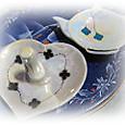ブランド風リングホルダーorティーバッグ皿